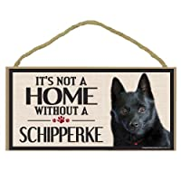 Imagine This Wood Sign for Schipperke Dog Breeds by Imagine This