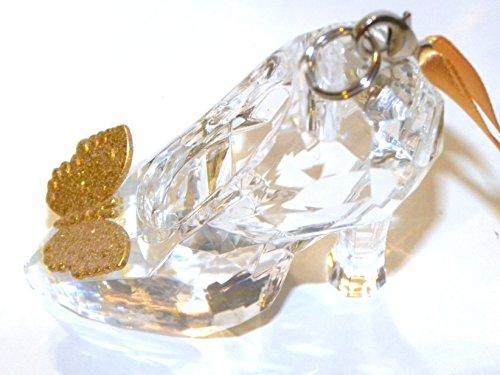 Disney Park Cinderella glass slipper 2016 shoe Christmas ornament
