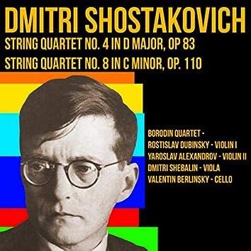Shostakovich - Quartet No.4 & Quartet No.8