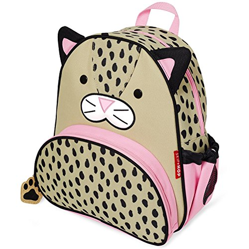 Skip Hop Toddler Backpack, 12' School Bag, Leopard