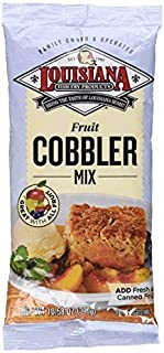 Louisiana Fish Fry Products, Cobbler Mix, 10.58oz Bag (Pack of 3) by Louisiana Fish Fry