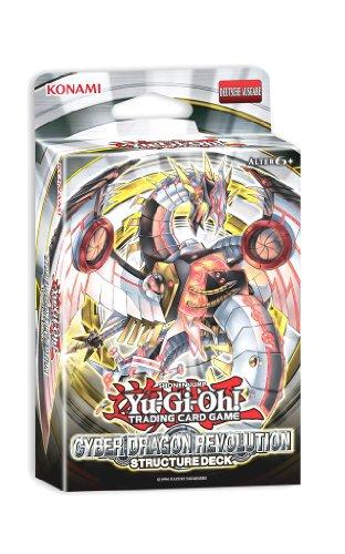 Konami 34584 - Yu-Gi-Oh Cyber Dragon Revolution Structure Deck