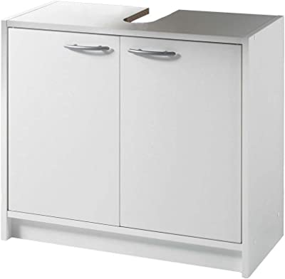 Beliebt Pelipal 359 Piolo Waschbeckenunterschrank Holzdekor Weiß Hochglanz PN19