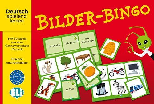 Bilder-Bingo: Deutsch spielend lernen. 100 Vokabeln aus dem Grundwortschatz Deutsch