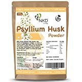 Psyllium Husk Powder by NKD Living (2 x 500kg) | Tested for Heavy Metals, Micro-Organisms and Over 500 Pesticides (1kg)