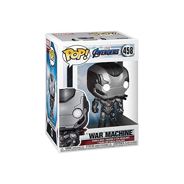 Funko Pop War Machine (Los Vengadores: Endgame 458) Funko Pop Los Vengadores