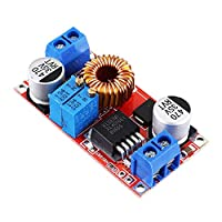 電子モジュール 電源ステップダウンモジュール調整可能な降圧レギュレータ5A一定のLEDドライバの充電電圧ボードDC-DC 5-32Vから0.8-30V