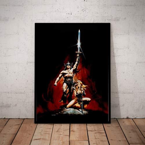 Quadro Decorativo Filme Conan O Barbaro Sem Texto