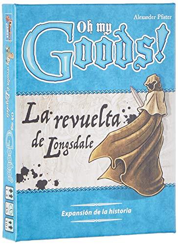 Asmodée-Oh My Goods La Revuelta de Longsdale-Español, Color (LKGOMG02ES)