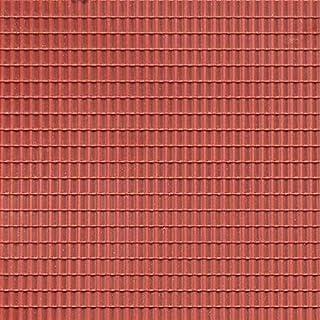 Auhagen 52.225,0 - Paneles Decorativos Teja, 10 x 20 cm