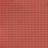 Auhagen 52.225,0 - paneles decorativos teja, 10 x 20 cm superficie de la estructura, marrón ,...