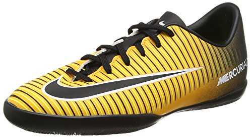 Nike Unisex-Kinder Jr. MercurialX Victory VI IC Fußballschuhe, Orange (Laser Orange/Black-White-Volt), 32 EU