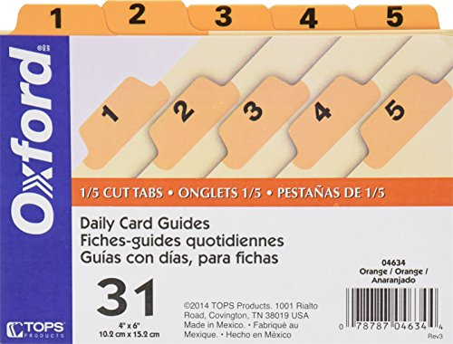 Index Card Guides & Business Card Guides