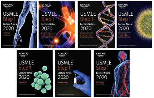 USMLE Step 1 Lecture Notes 2020: 7-Book Set (Kaplan Test Prep)