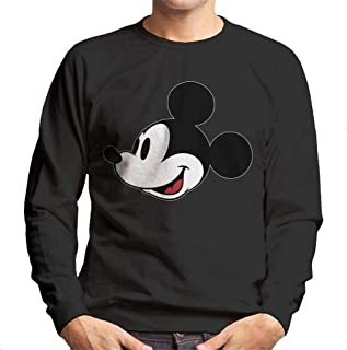 Disney Mickey Mouse Looking Joyful Men's Sweatshirt