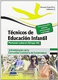Técnicos en Educación Infantil. Personal laboral (Grupo III) de la Administración de la Comunidad Autónoma de Extremadura. Temario específico Volumen II