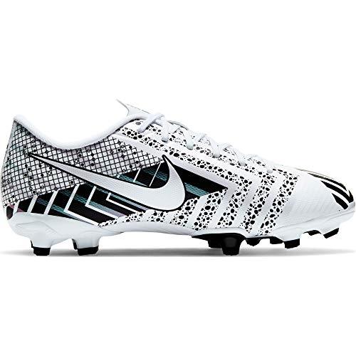 Nike Mercurial Vapor 13 Academy Dream Speed MG Junior Scarpe da Calcio per Bambini, Colore: Bianco/Nero, Bianco (Bianco), 35