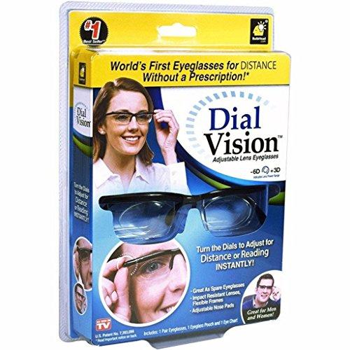 Dial Vision Einstellbare Brille für Nah und Fern