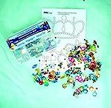 Kreul 49641 – Schmucksteine Set, für die Gestaltung von modischen Accessoires und zur Gestaltung im Home Deco Bereich, 1000 bunte Steine in verschiedenen Formen und Größen - 2