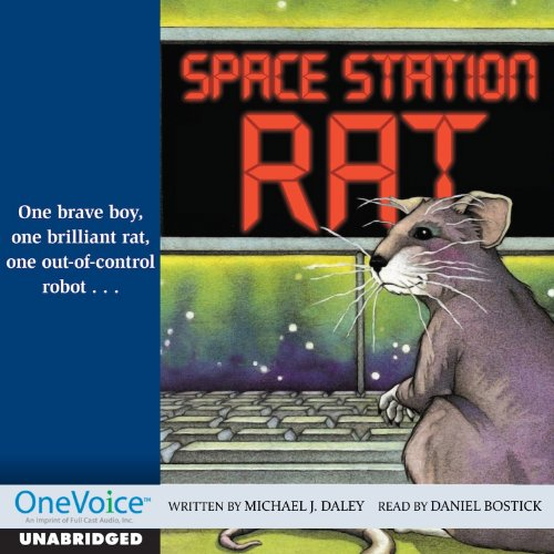 Space Station Rat audiobook cover art