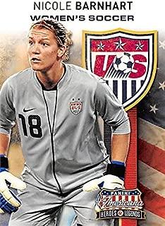 Nicole Barnhart trading card (USA Womens Soccer World Cup) 2012 Panini Americana Insert #17