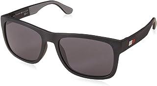 تومي هيلفيغر نظارات شمسية نمط مستطيل للجنسين - عدسة