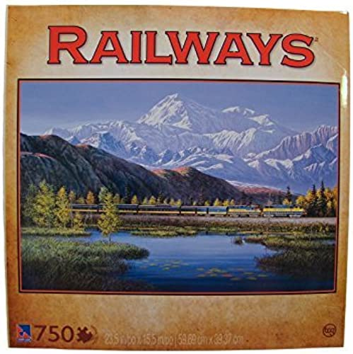 Railways 750 Piece Jigsaw Puzzle  On a Clear Day by Sure-Lox