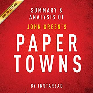 Paper Towns by John Green: Summary & Analysis cover art
