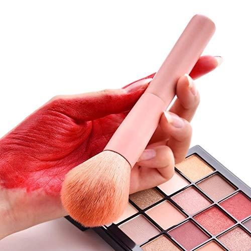 YGGY Fondation en Bois Fard à paupières Fard à paupières Pinceau Fard à Joues Ensembles de pinceaux de Maquillage Outils Pinceau Multifonctionnel Outils de Maquillage cosmétique, A