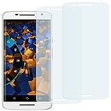 mumbi Schutzfolie kompatibel mit Motorola Moto X Play Folie klar, Bildschirmschutzfolie (2X)