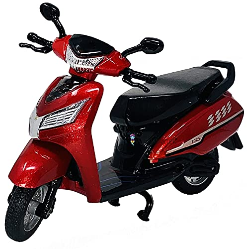 Wishmaster Plastic Kids Small Size Pull Back &Go BasicToys For Boys,Girls,Babies | Return Gifts | Give Away Gifts | Basic Scooty| Small Size Scooty |Pull Back Action Indian Scooty| For Above 3 Years Old | (Indian Scooty)