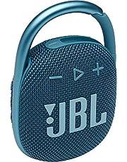 JBL CLIP 4 Bluetooth音箱 USB C充電/IP67防塵防水/搭載無源輻射器/便攜/2021年款 藍色 JBLCLIP4BLU 【國內正規品/制造商保修1年】