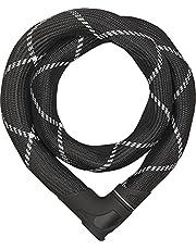 ABUS Kettingslot Iven Chain 8210 – fietsslot met synthetische vezelommanteling – ABUS veiligheidsniveau 10 – 85 cm – zwart