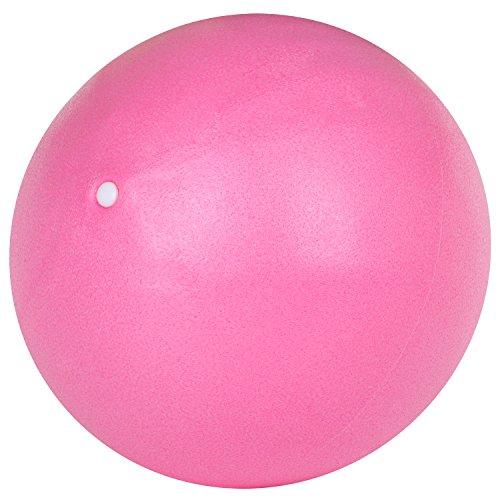 TRIXES Balón Espuma PVC Rosa Ayuda para Ejercicios de, Fortalecimiento, Yoga Gimnasia, Ejercicios Pilates