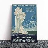 BIG Box Kunstdruck auf Leinwand, Vintage-Stil, WPA Poster
