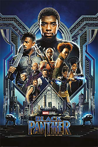 Black Panther - Marvel Movie Poster/Print (Regular Style) (Size: 24 inches x 36 inches)