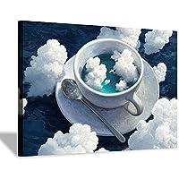 カップの空壁アートキャンバス絵画ポスターとプリントリビングルームオフィス装飾絵画家の装飾