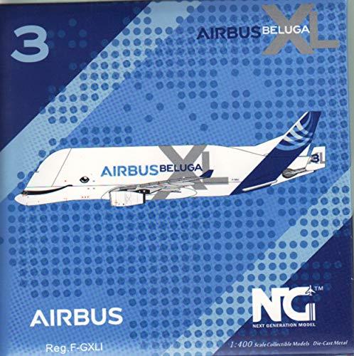 NG Model NGM60003 1:400 Airbus A330-743L Beluga XL Reg #F-GXLI (pre-Painted/pre-Built)
