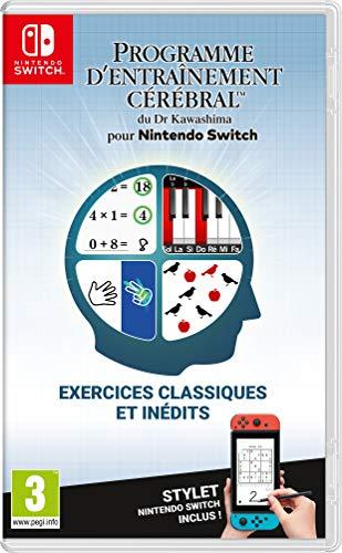 Jeu Switch Nintendo Programme d'Entrainement du Dr.Kawashima