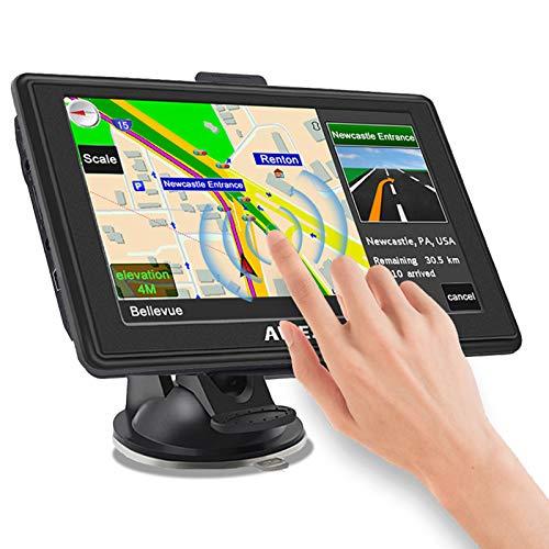 AWESAFE Sat Nav 2020 Latest 5 inch 8GB 256MB Car GPS Satellite Navigation System Sat Navs for Cars...