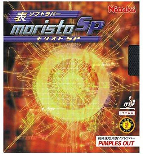 ニッタク(Nittaku) 卓球 ラバー モリストSP 表ソフト テンション レッド 中 NR-8670(スピン)