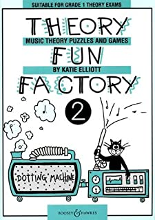 THEORY FUN FACTORY 2 VOL. 2: Suitable for Grade 1 Theory Exams