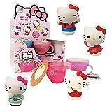 Sbabam s.r.l. Squishy Hello Kitty Cappuccino: Pack de 2 Tazas Diferentes