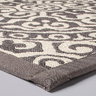 Gray Medallion Kitchen Runner - Threshold™ : Target