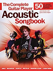 THE Complete Guitar Player Acoustic Songbook Gtr Book