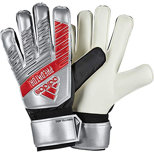 adidas Herren Predator Top Training Torwarthandschuhe, Silver met./Black, 10
