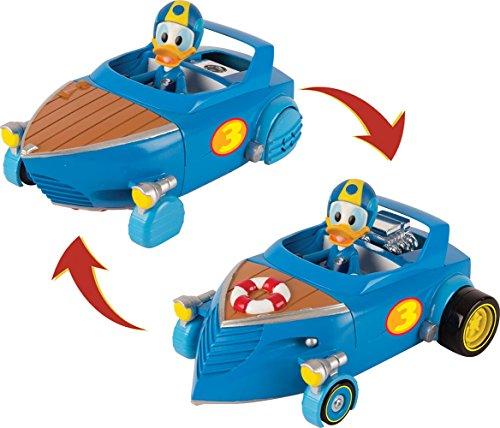 Micky Maus Flinke Flitzer 182820MM2 Disney Junior Micky Roadster Racers transf. Cabin Crui