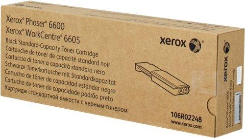 Xerox WorkCentre 6605 dnm -Original Xerox 106R02248 - Black Toner Cartridge -3000 pages