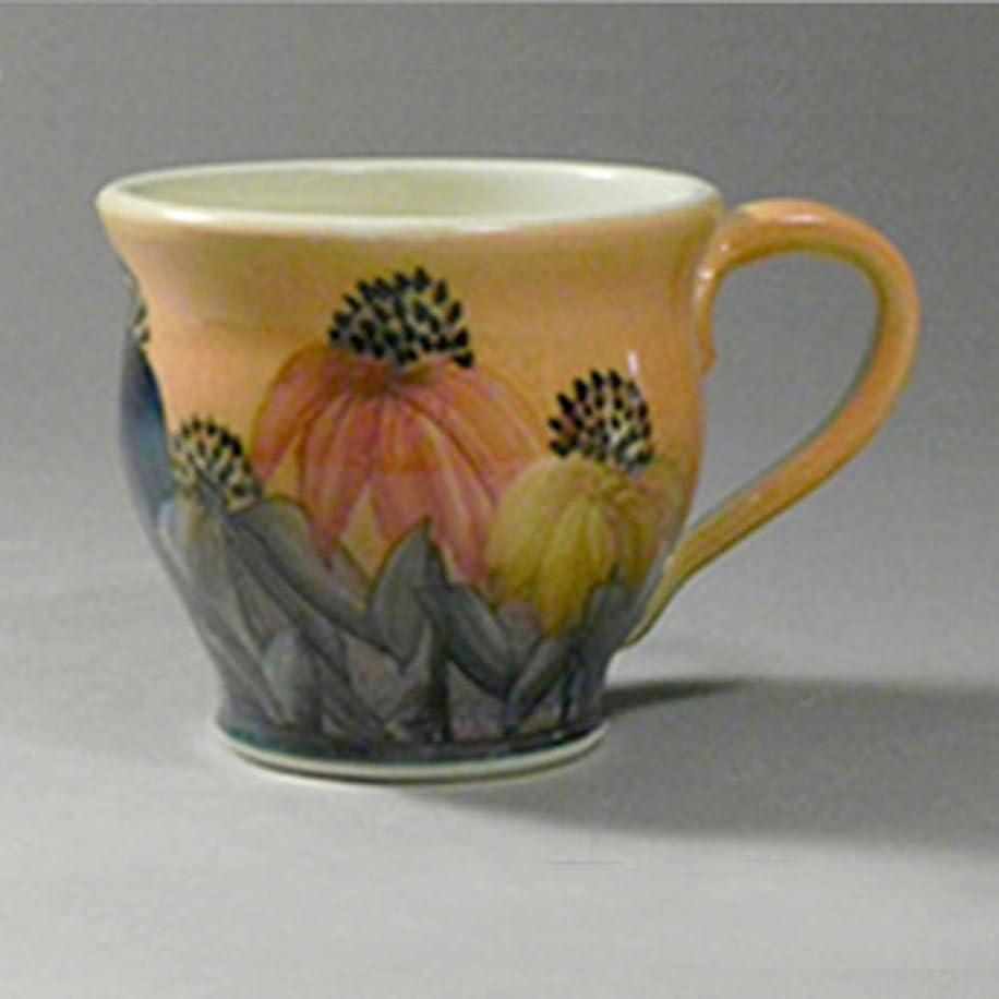 Round Mug Cone Flower