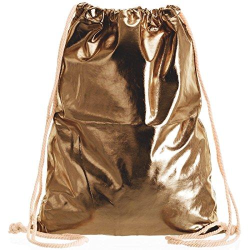 Compagno Turnbeutel Fullprint Rucksack Beutel Tasche Sport-Beutel, Rucksack Farbe:Space Bronze